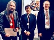 Luu Hông Quang primé au concours international de piano