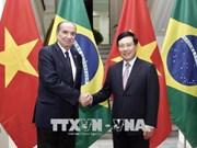 Le ministre brésilien des AE en visite officielle au Vietnam