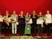 Des œuvres sur le Président Hô Chi Minh distinguées