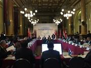 Une délégation du PCV participe à la deuxième réunion du Forum politique Asie-Europe