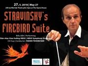 Le chef d'orchestre français Fabien Tehericsen donnera un concert à Ho Chi Minh-Ville