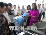 Inauguration d'une modèle de cuisine scolaire à Lang Son