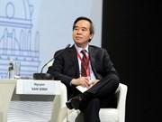 Le président de la Commission centrale de l'Economie du PCV prononce un discours au SPIEF-2018