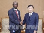 Coopération intensifiée avec la BM dans le développement des infrastructures