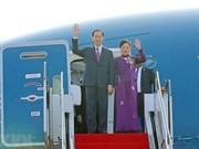 Le président Trân Dai Quang quitte Hanoi pour une visite d'État au Japon