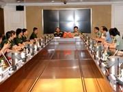 Echanges entre jeunes officiers vietnamiens et chinois