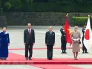Entrevue entre le président Trân Dai Quang et l'empereur Akihito