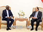 Le PM Nguyen Xuan Phuc reçoit l'ambassadeur soudanais