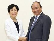 Le PM Nguyen Xuan Phuc reçoit la PDG du Fonds pour l'environnement mondial