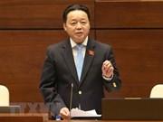 Des députés satisfaits des réponses du ministre des Ressources naturelles et de l'Environnement