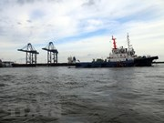 Sauvetage d'un cargo bloqué au large de Vung Tau
