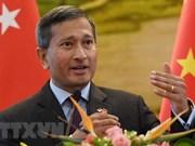 Entretien entre les ministres des AE de la RPDC et de Singapour