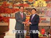 Le président du Congrès des Etats fédérés de Micronésie visite Hai Phong