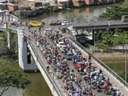 Hô Chi Minh-Ville s'engage à lutter contre les embouteillages