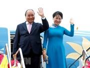 Le PM Nguyen Xuan Phuc commence à participer à l'ACMECS 8 et au CLMV 9  