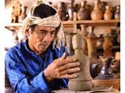 Élaboration du dossier sur l'art de la céramique des Chams pour le soumettre à l'UNESCO