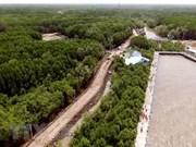 Climat : mise en oeuvre de plusieurs projets dans le delta du Mékong