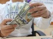 Appréciation du dollar américain face au dông vietnamien