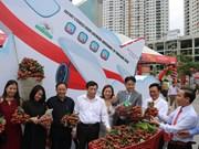 """200 tonnes de litchis """"thiêu"""" de Luc Ngan seront exportées en Thaïlande"""