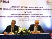 Formation aéronautique: aide de 2,5 millions de dollars d'Airbus pour le Vietnam