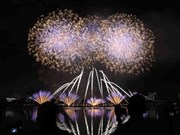 L'Italie brille au Festival international de feux d'artifice de Dà Nang 2018