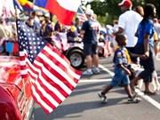 Félicitations pour la Fête nationale des Etats-Unis