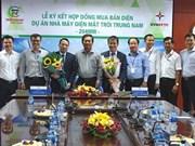 Une centrale solaire sera construite à Ninh Thuan