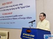 Gestion des connaissances dans l'appareil d'Etat au Vietnam