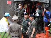 Thaïlande : 2e opération de sauvetage des jeunes garçons bloqués dans une grotte inondée