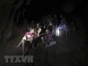 """Thaïlande : quatre autres """"sangliers"""" sont sortis de la grotte de Tham Luang"""