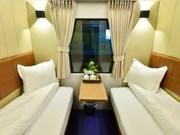 Des cabines de luxe à 2 lits dans des trains entre Hanoi-HCM-Ville