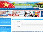 Thua Thien-Hue en tête du pays dans le développement de l'e-gouvernement