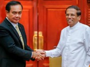 Thaïlande-Sri Lanka : volonté commune de resserrer la relation bilatérale
