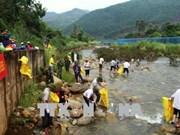 Les peuples vietnamo-chinois conjuguent des efforts pour protéger l'environnement