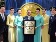 Vietnam Airlines continue de recevoir le titre de compagnie aérienne internationale à 4 étoiles