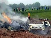 Un crash d'hélicoptère fait au moins trois en Thaïlande