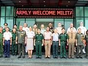 Des attachés militaires étrangers au Département des opérations de maintien de la paix du VN