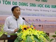 Des solutions efficaces pour conserver la biodiversité dans le Parc national de Tram Chim