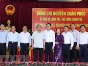 Le Premier ministre Nguyen Xuan Phuc en visite de travail à Ha Tinh