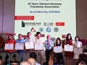 L'Association d'amitié Vietnam-Allemagne à HCM-Ville contribue aux relations entre les deux pays