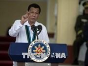 Le président philippin s'engage à poursuivre la lutte contre la drogue
