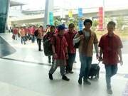 L'Indonésie rapatrie 42 pêcheurs vietnamiens