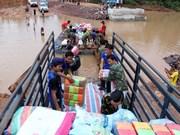 Effondrement de barrage : le gouvernement vietnamien accorde 200.000 dollars au Laos