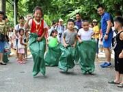 Espace de jeu pour enfants au cœur de Hanoï
