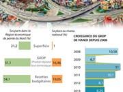 [Infographie] Dix ans de développement de l'économie de Hanoï
