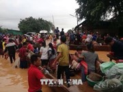 Effondrement de barrage : aides vietnamiennes accordées aux sinistrés laotiens