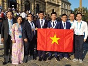 Le Vietnam brille aux Olympiades internationales de chimie 2018
