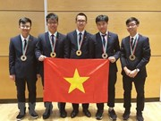 Le Vietnam primé aux 49e Olympiades internationales de physique