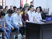 Dong Nai : Des peines sévères contre 20 personnes accusées de trouble à l'ordre public