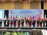 Pham Binh Minh rencontre les ministres des AE de l'ASEAN et d'autres pays à Singapour